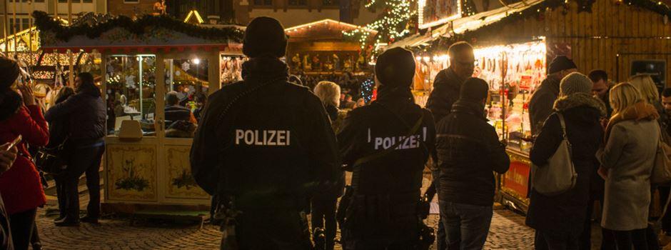 Während Sternschnuppenmarkt: Polizeiwache im Rathaus
