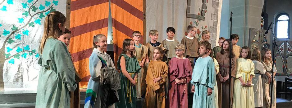 Kommunionskinder des pastoralen Raums begeistern mit Musical