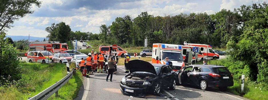 Schwerer Verkehrsunfall in Mainz-Kastel