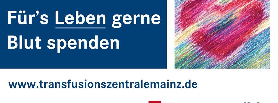 Für's Leben gerne Blut spenden  im Bürgerhaus Hillesheim - am 29. Juni