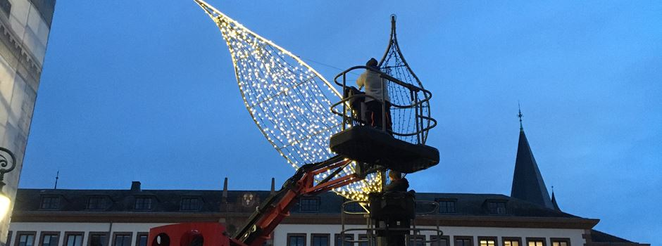 Wiesbaden bereitet sich auf Weihnachten vor