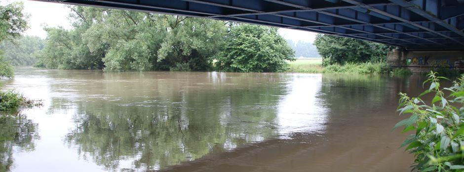 Heftiger Pegel-Anstieg: Lippeverband erwartet weitere Wasser-Wellen