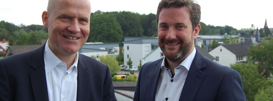 Bundestagsabgeordneter Brinkhaus zu Gast im Rathaus