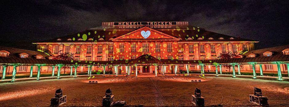 Wiesbadener Fassaden leuchten wieder in bunten Farben