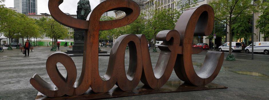Das steckt hinter der neuen Skulptur auf dem Goetheplatz