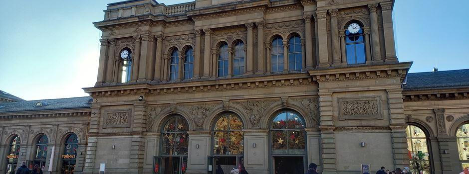 Mann uriniert auf Frau im Mainzer Hauptbahnhof