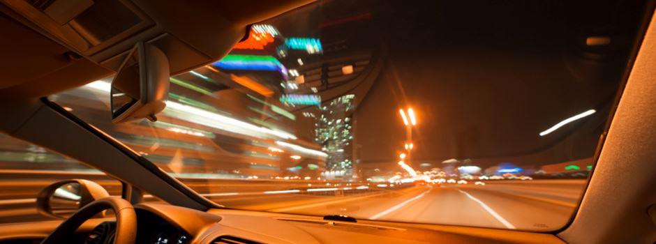 Polizei kontrolliert Temposünder auf den Autobahnen