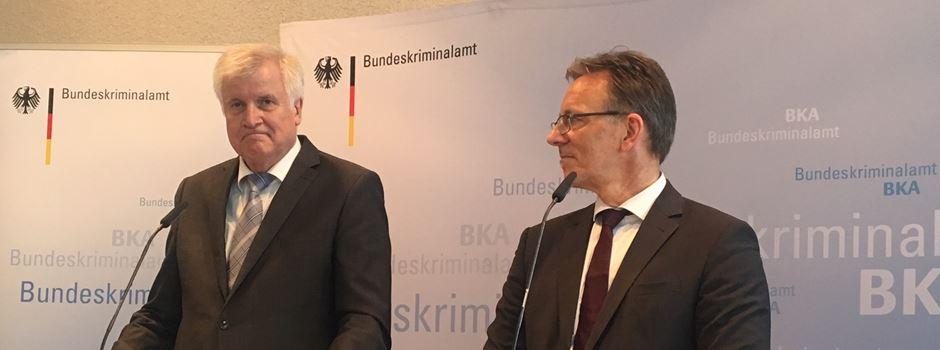 Bundesinnenminister Seehofer besucht Bundeskriminalamt in Wiesbaden