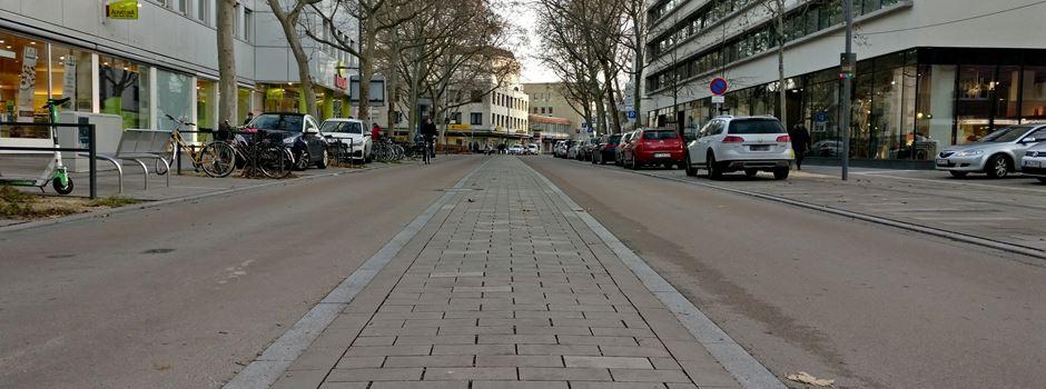 Mittelstreifen statt Radweg in der Großen Langgasse – warum?