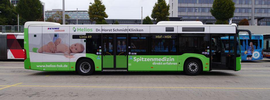 Am Montag startet die neue Buslinie zwischen Hauptbahnhof und HSK