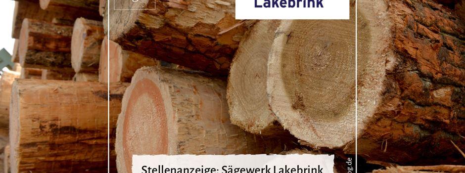 Stellenanzeige: Sägewerk Lakebrink sucht einen Schlosser