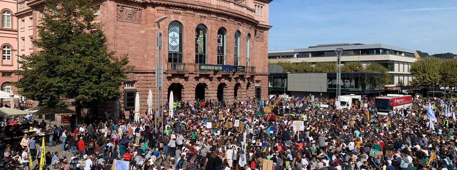 "So lief die ""Fridays for Future""-Demo in Mainz"