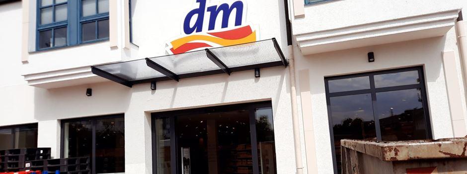 dm-Umzug: 12.500 Produkte, längere Öffnungszeiten und neue Angebote