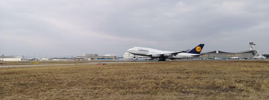 Flughafen Frankfurt wegen Drohne  lahmgelegt
