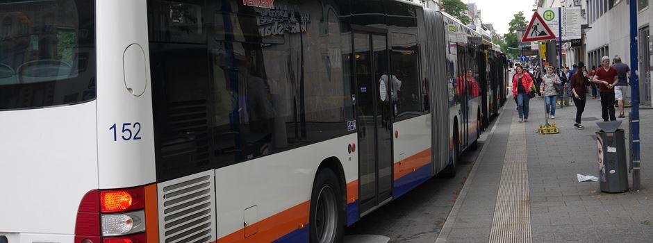 Mehrere Buslinien ab Dienstag umgeleitet