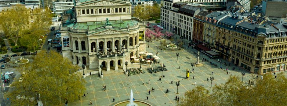 Ausschreitungen auf Frankfurter Opernplatz: 5 verletzte Polizisten und 39 Festnahmen