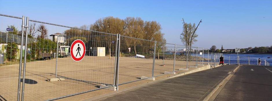 Terrasse am Mondorfer Rheinufer ab morgen wieder geöffnet - mit Auflagen