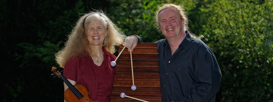 Violine und Marimba