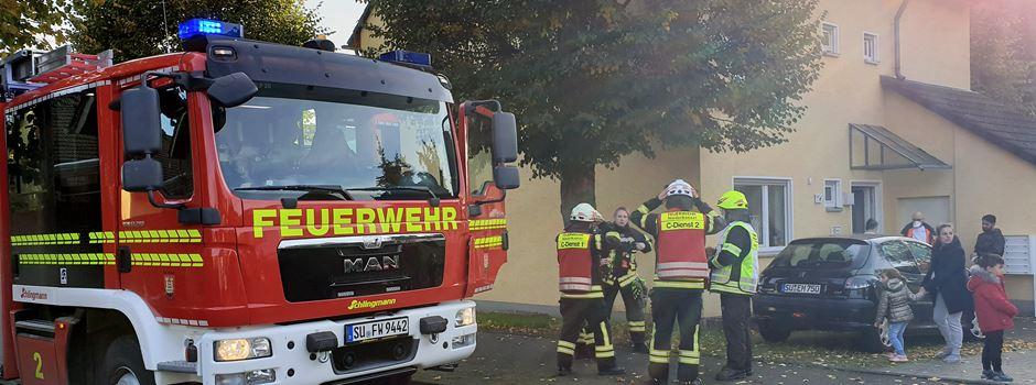 Fettexplosion - Feuerwehreinsatz in Niederkassel