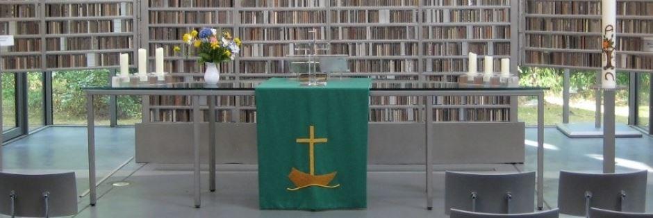 Andacht am Eine-Erde-Altar