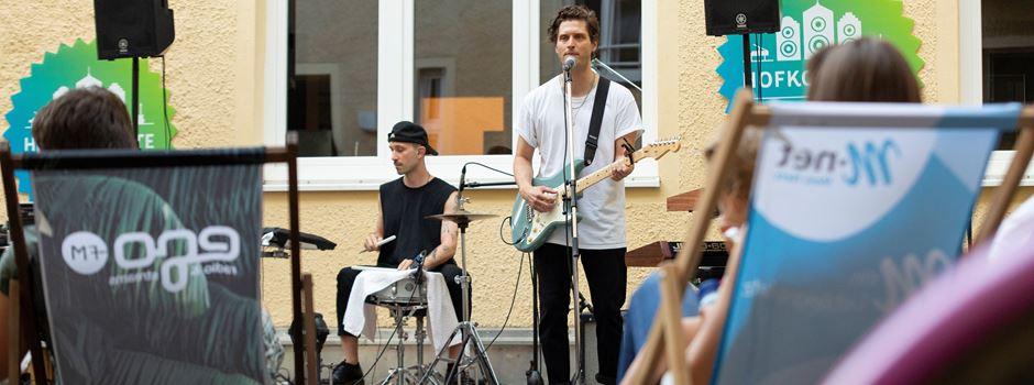 Ein Konzert im eigenen Innenhof: Die Augsburger Hofkonzerte