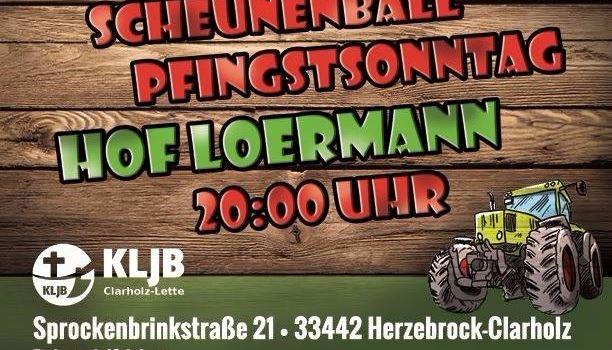 Scheunenball Pfingstsonntag Hof Loermann