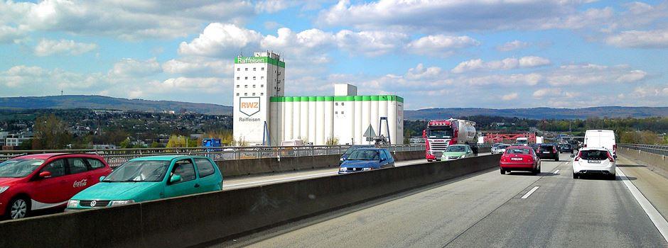 Schiersteiner Brücke: Umleitungen wegen Rampenneubau