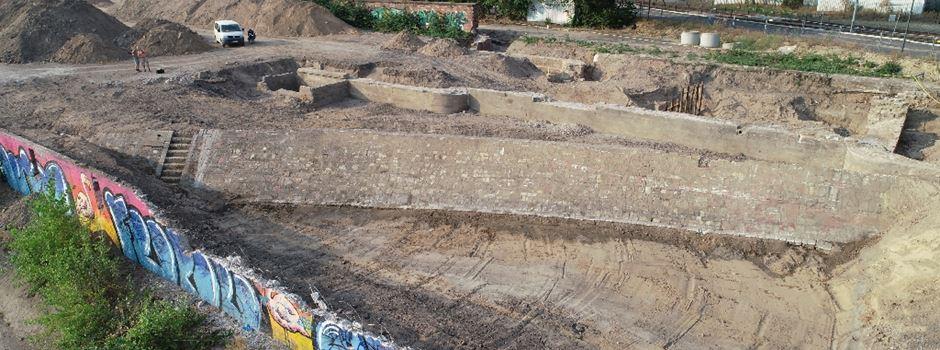 Historische Funde an der Nordmole