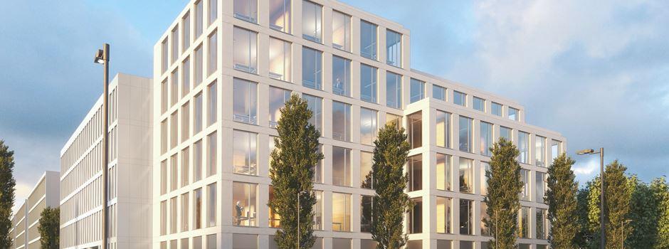 Neben dem Justizzentrum entsteht ein neues Bürogebäude