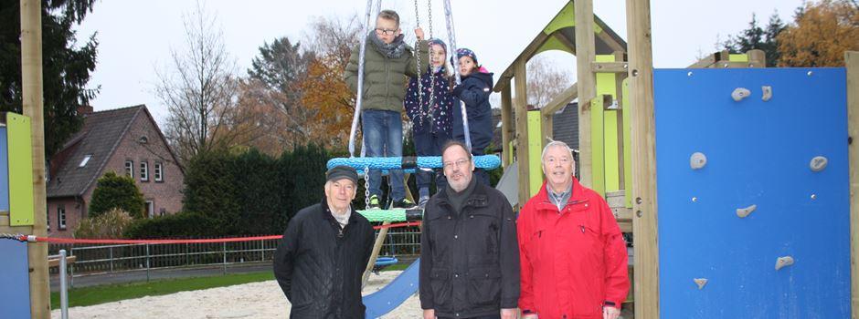 Spielplatz Unnenkamp eingeweiht