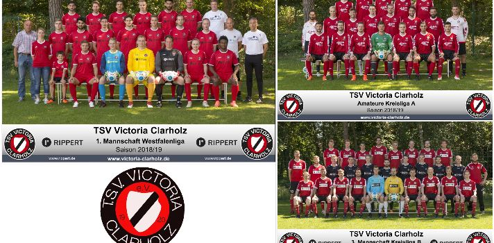TSV Victoria Clarholz: Mannschaftsfotos Seniorenfußballabteilung