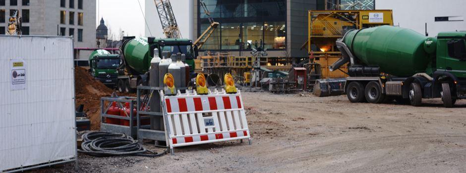 Schwerer Unfall auf Baustelle im Gallus