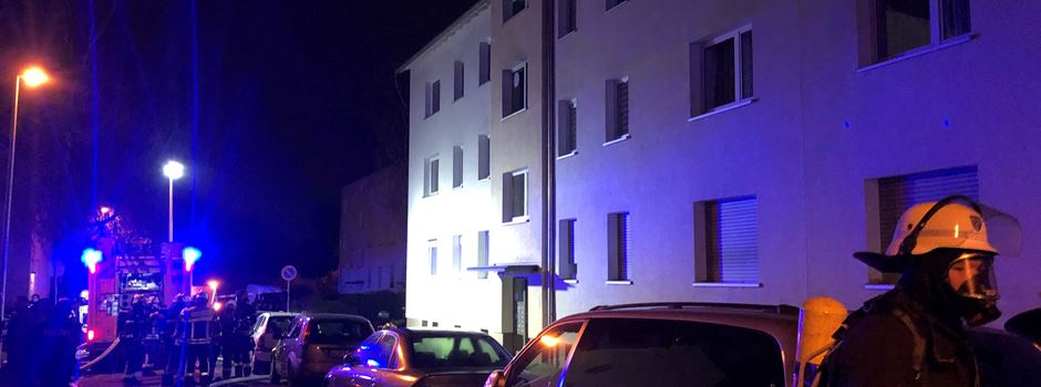 Zwei Schwerverletzte nach Wohnungsbrand