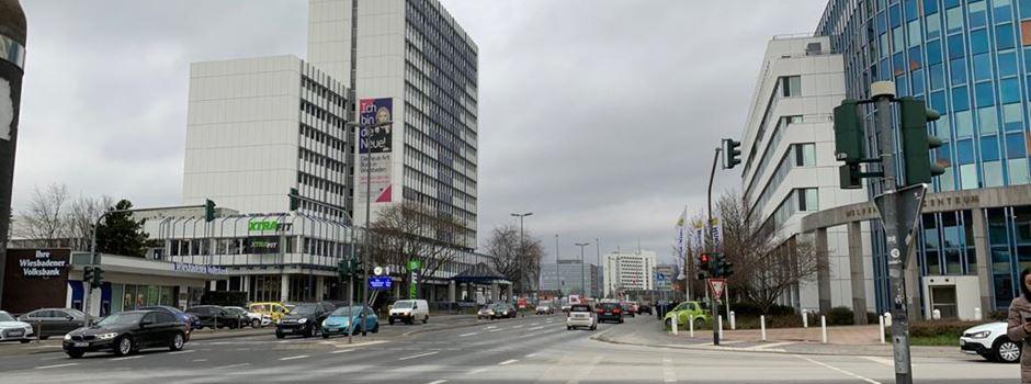 Wie sich der Verkehr in Wiesbaden durch die Corona-Krise verändert hat