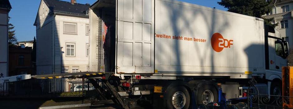 ZDF bereitet Live-Übertragung aus Biebrich vor