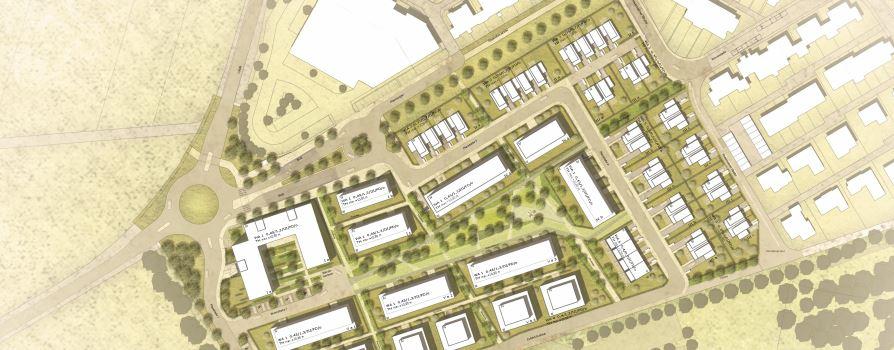 Neues Wohngebiet entsteht in Delkenheim
