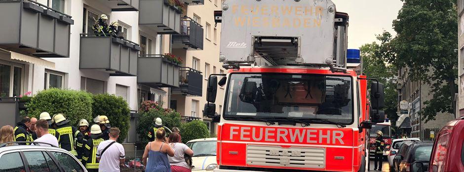 Ein Verletzter bei Wohnungsbrand in Biebrich
