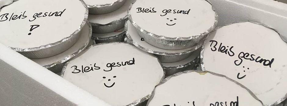 Wie eine Bank und ein Restaurant der Wiesbadener Tafel helfen