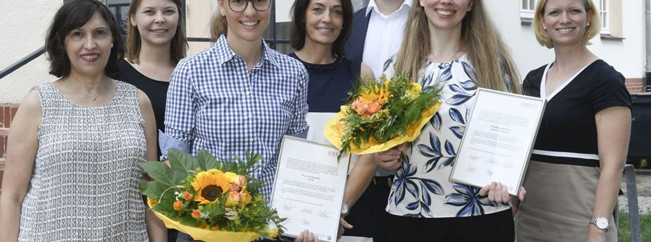 Lara Farwick aus Herzebrock-Clarholz erhält Unternehmerinnenbrief NRW