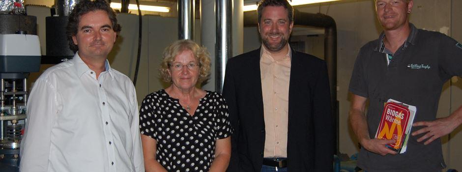 Hallenbad Herzebrock und von-Zumbusch-Gesamtschule beziehen Wärme aus Biogas