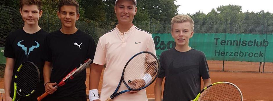Tennis: Aufstieg der U15 Junioren in die Bezirksklasse
