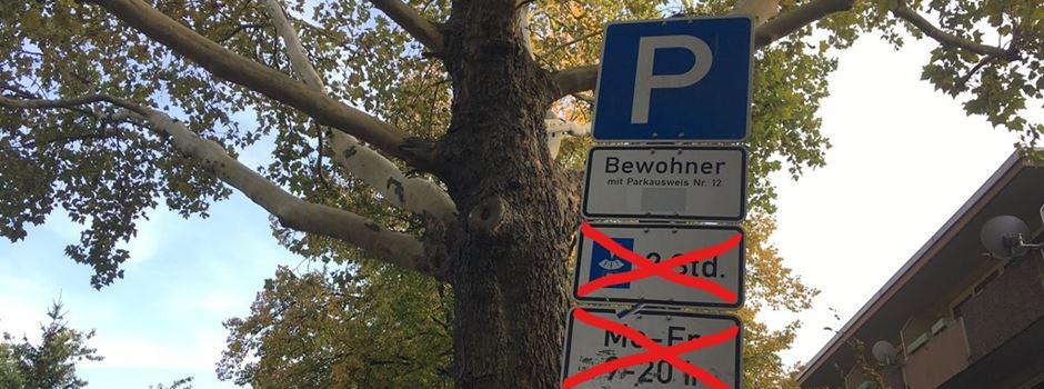 Dürfen in der Innenstadt bald nur noch Bewohner parken?