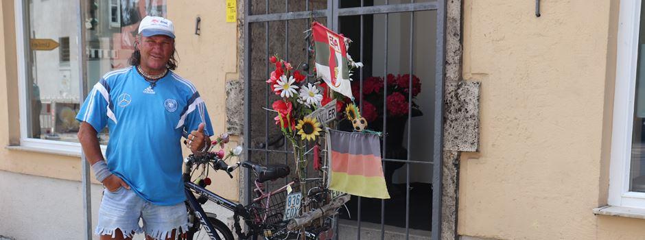 Alwin – der Besitzer des Augsburger Kult-Fahrrads