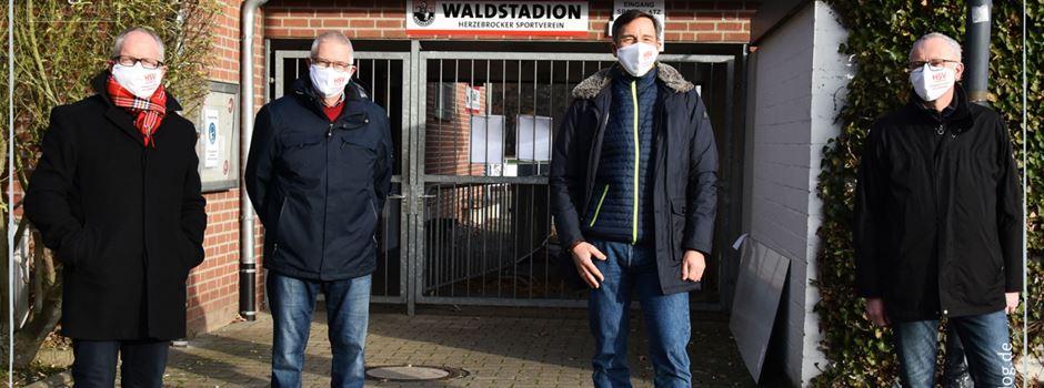 1500 Masken für die HSV-Mitglieder
