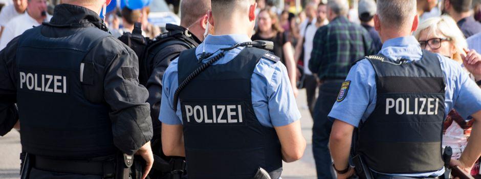 Intensive Polizeikontrollen in der Innenstadt