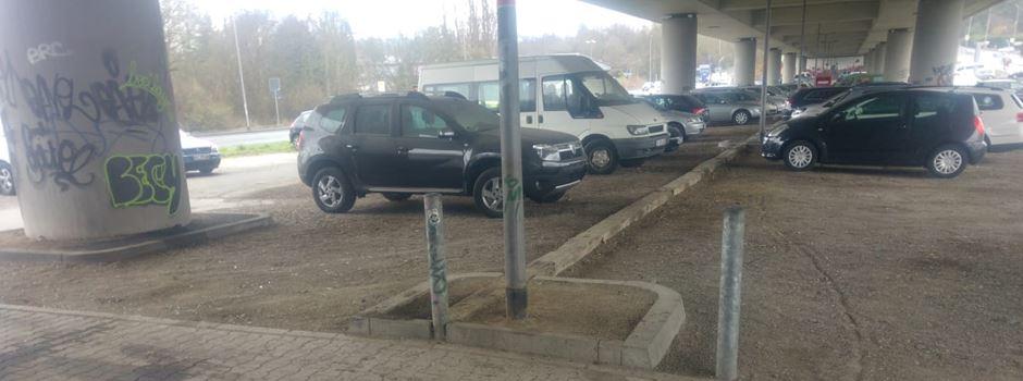 Polizisten werden bei Großkontrolle auf Park&Ride-Parkplatz fündig