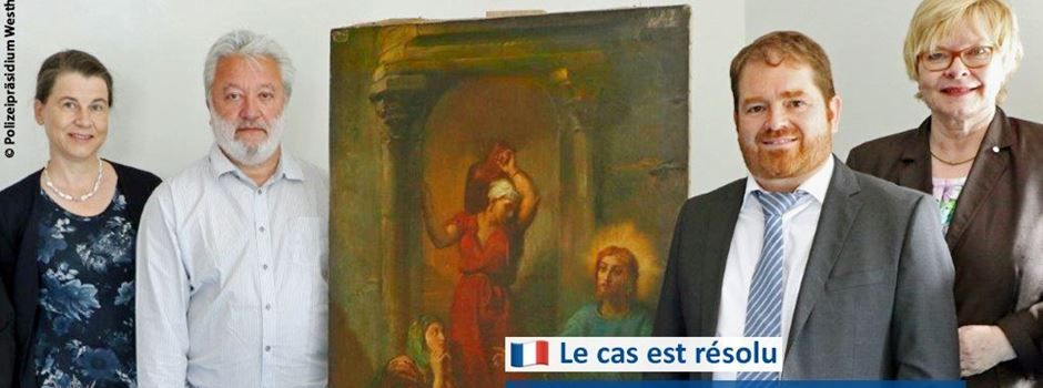 Verschollenes Gemälde in Wiesbaden wiedergefunden