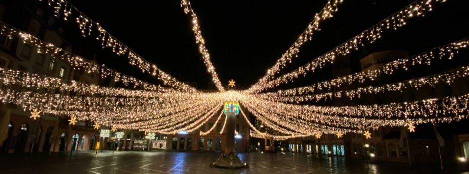 Wie lange bleibt die Weihnachtsbeleuchtung noch aufgebaut?