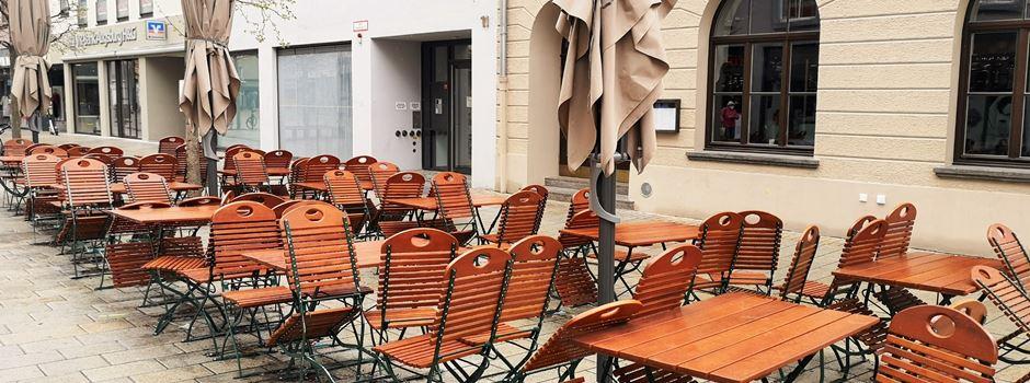 Wie steht es um die Außengastronomie in Augsburg?