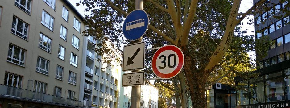 Stadtrat beschließt große Tempo-30-Zone in der Innenstadt